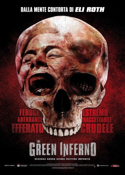 Italian poster for The Green Inferno