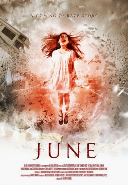 The poster for June from RLJ Entertainment