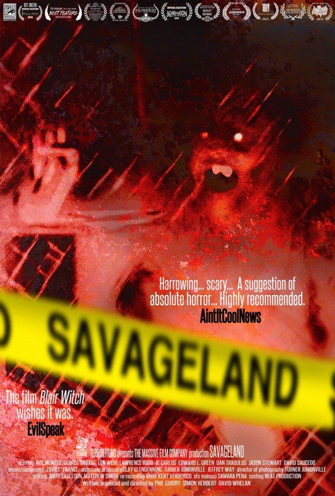 SAVAGELAND FILM POSTER