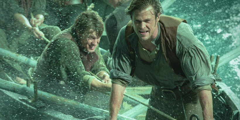 Chris Hemsworth as Owen Chase in a scene from In the Heart of the Sea.