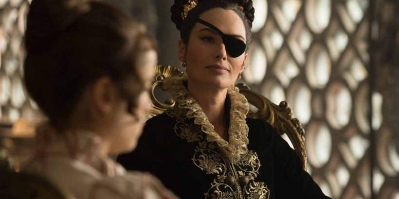 Lena Headey in Screen Gems' PRIDE AND PREJUDICE AND ZOMBIES.