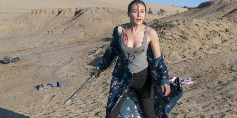 Alycia Pebnam-Carey as Alicia Clark - Fear The Walking Dead _ Season 2, Episode 03 - Photo Credit: Richard Foreman/AMC