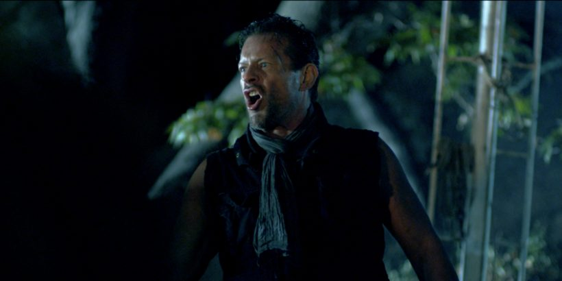 Cylus Atkinson (Costas Mandylor) rallying The Mutants