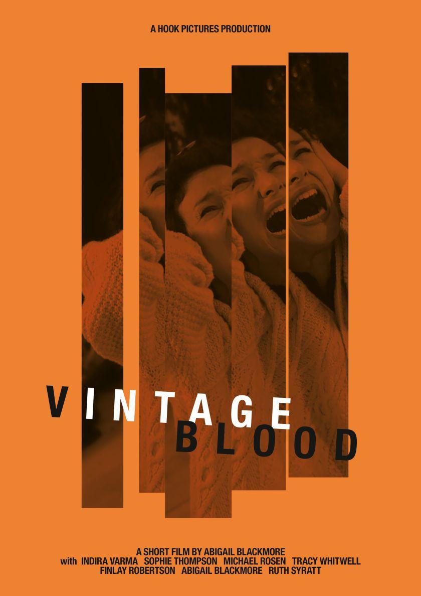 Vintage Blood poster resized