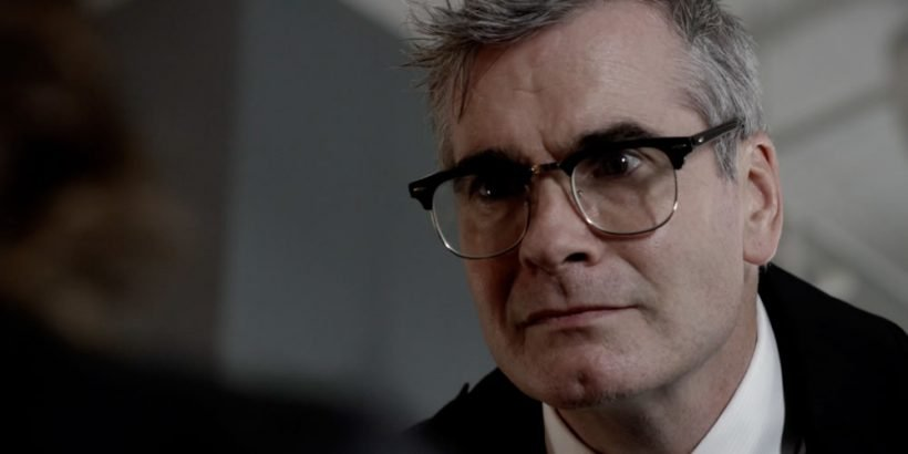 Henry Rollins as Bernard in the thriller film THE LAST HEIST an XLrator Media release. Photo courtesy of XLrator Media.