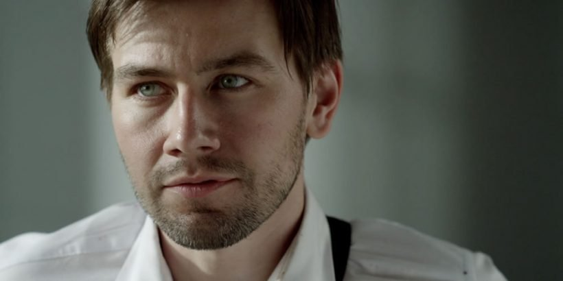 Torrance Coombs as Paul in the thriller film THE LAST HEIST an XLrator Media release. Photo courtesy of XLrator Media.