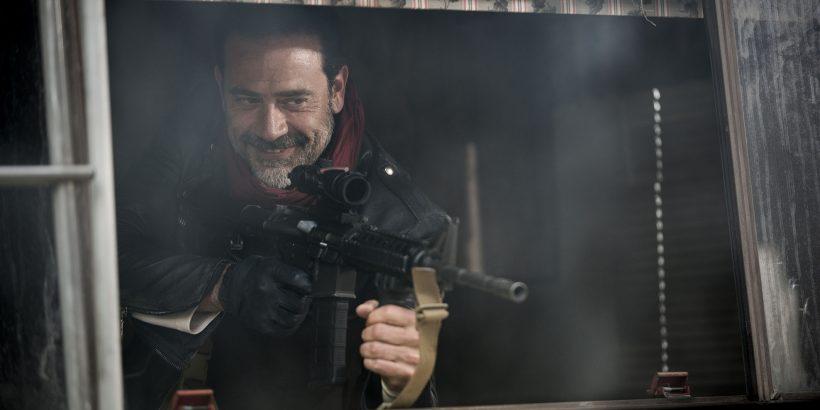 Jeffrey Dean Morgan as Negan - The Walking Dead _ Season 7, Episode 1 - Photo Credit: Gene Page/AMC