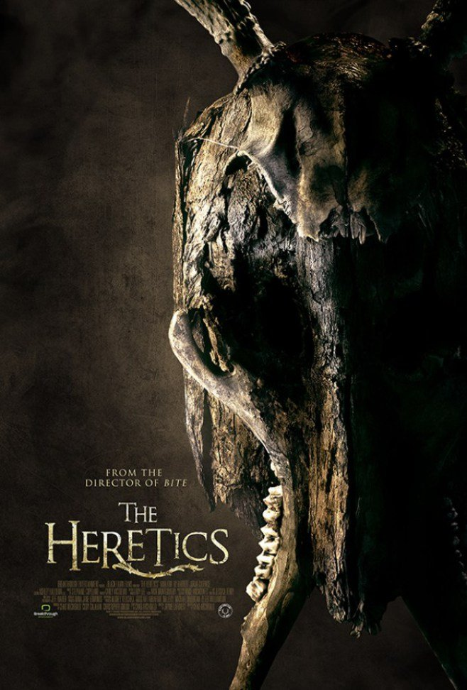 "From the director of ""Bite"": ""The Heretics"""