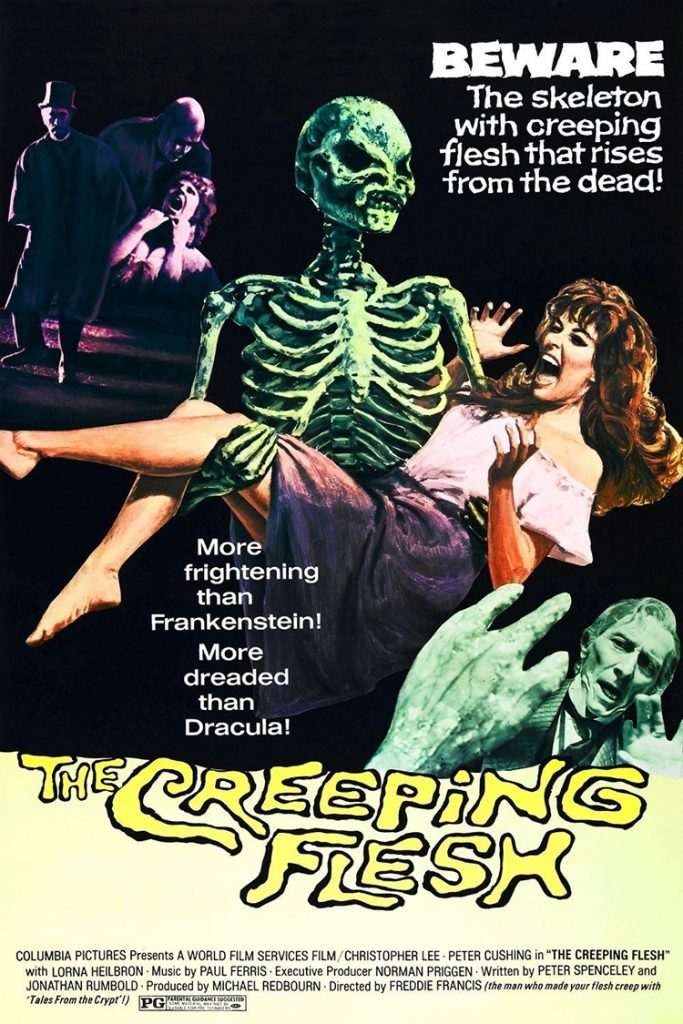 The Creeping Flesh - poster