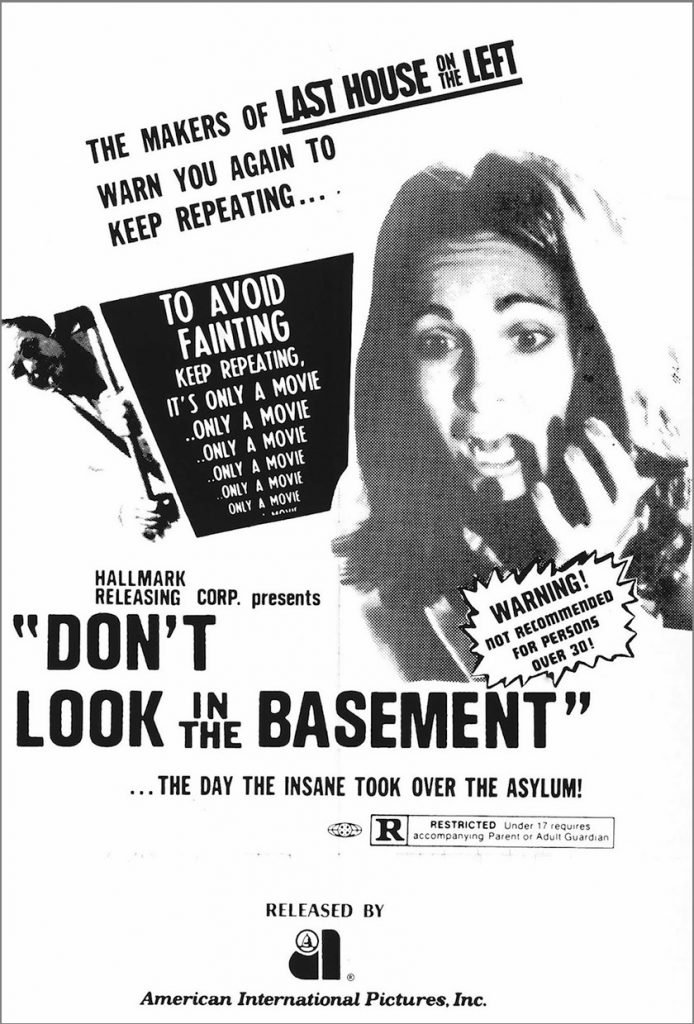 Don't Look in the Basement - Poster