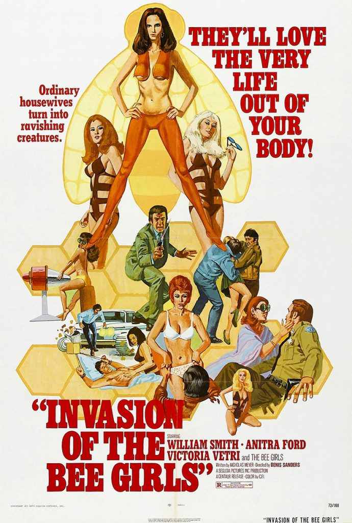 Invasion of the Bee Girls - Poster
