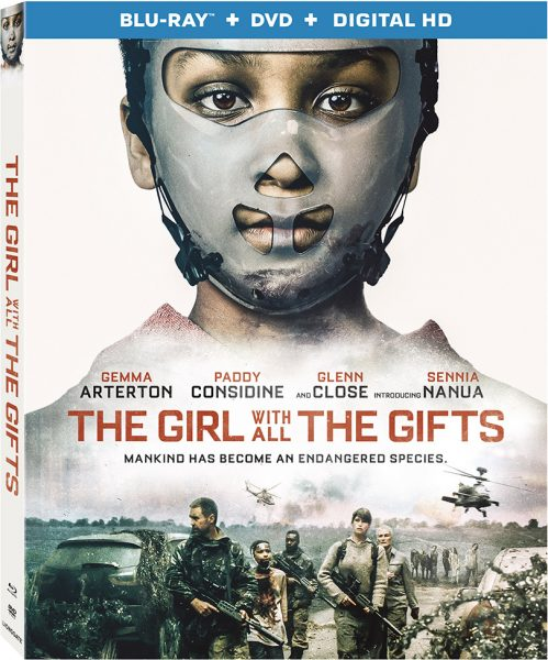 The Girl With All The Gifts Blu-ray Cover