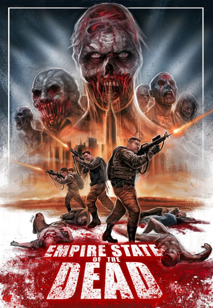 Empire State of the Dead - poster