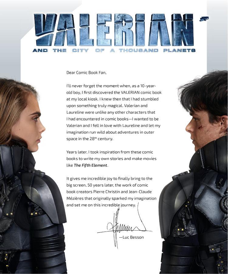 Valerian - Letter