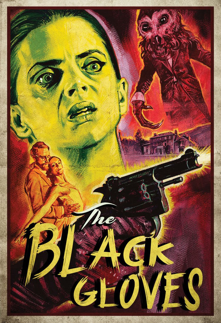 Poster for The Black Gloves
