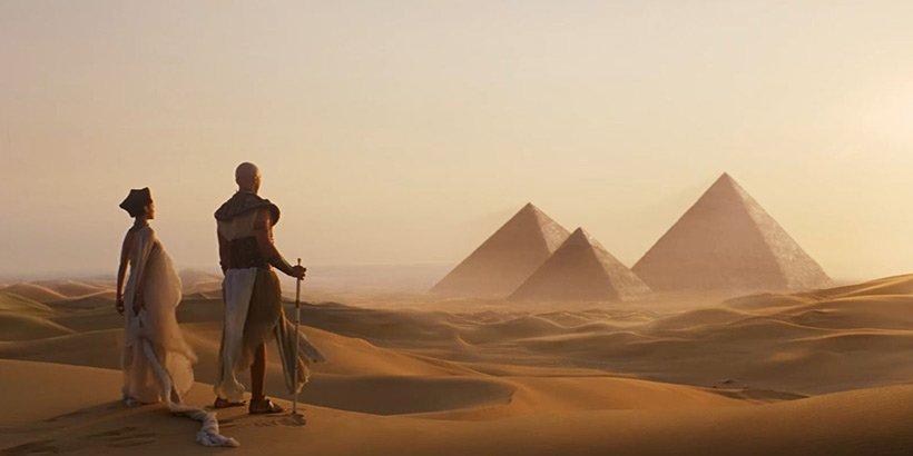 The Mummy - pyramids