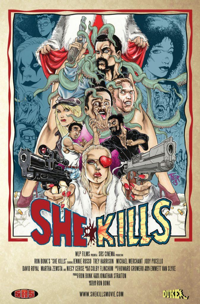 She Kills - poster