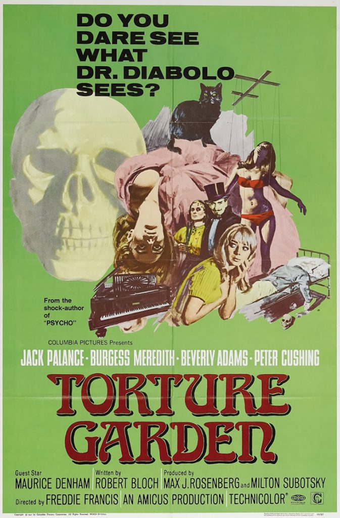Torture Garden - Poster