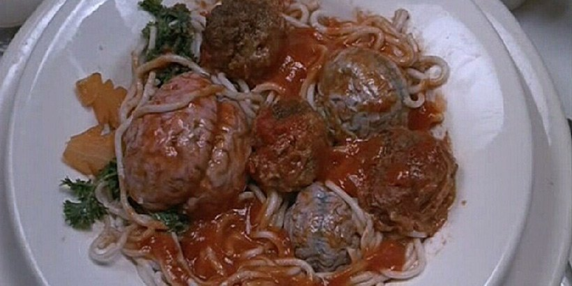Brain Damage - Spaghetti, Meatballs, . . . & Brains