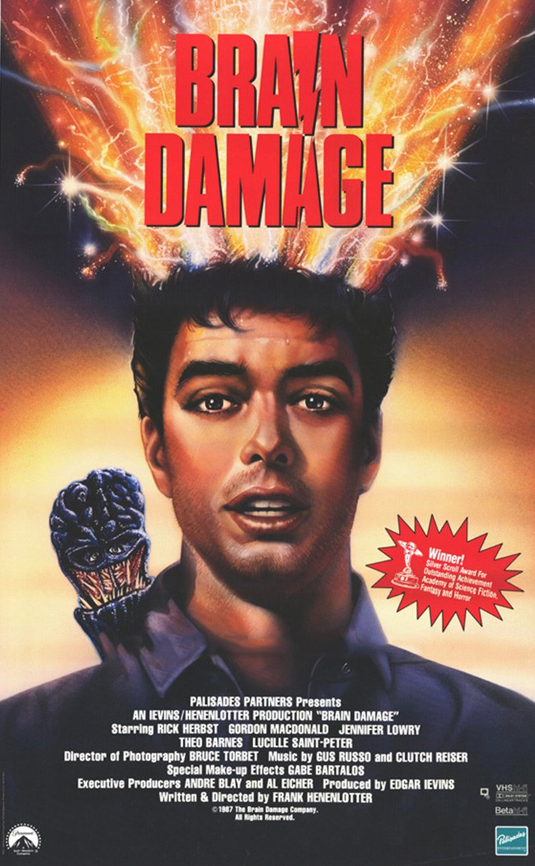 Brain Damage - Poster