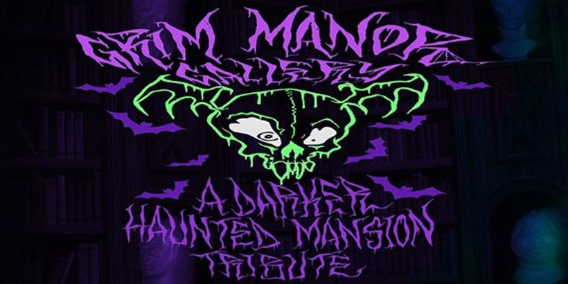 Grim Manor Gallery - A Darker Haunted Mansion Tribute